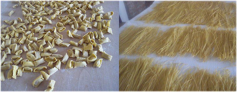 Pranzo di Ferragosto: pasta fatta in casa all'Eno Agriturismo Gallina Giacinto!