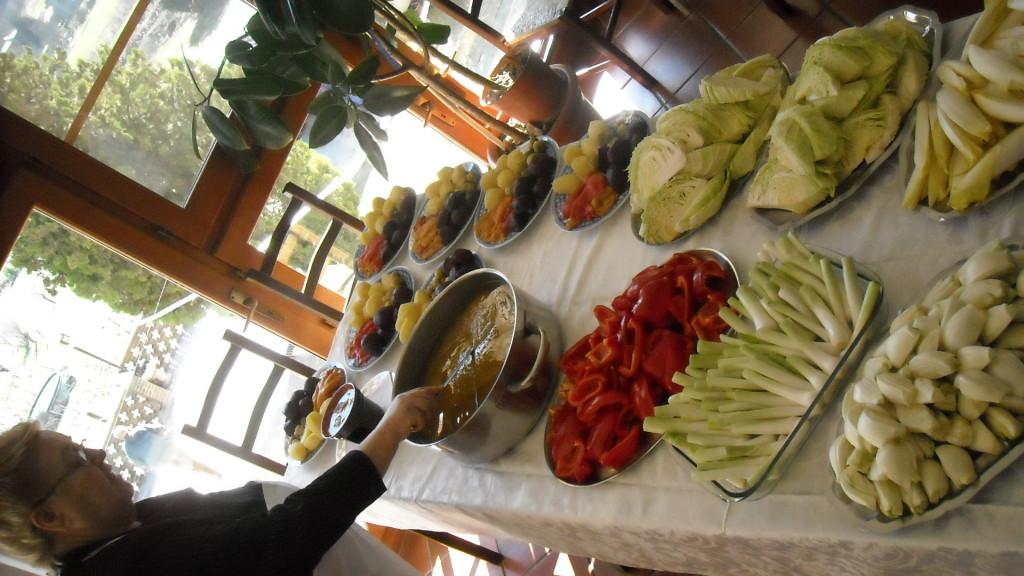Bagna cauda day hasta hotel resort