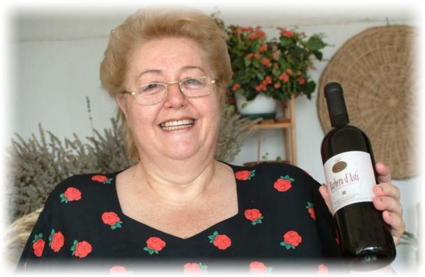 'Anna Forno Gallina' dell'Eno Agriturismo Giacinto Gallina a Santo Stefano Belbo