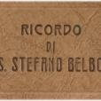 Santo Stefano Belbo ai primi del '900