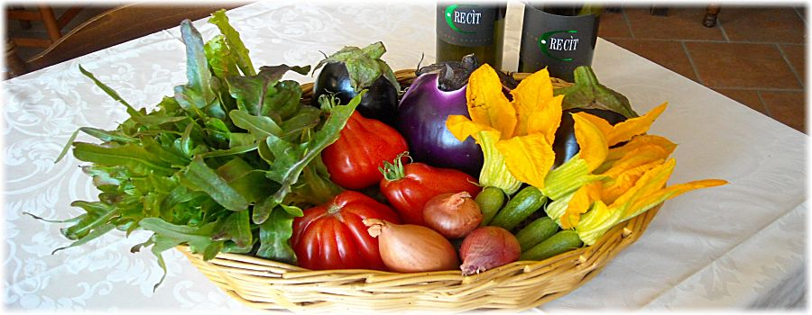 Pranzo di Ferragosto: tripudio di verdure dell'Eno Agriturismo Gallina Giacinto!